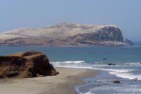 Playa Tambo de Mora en el distrito de Végueta. Municipio de Végueta